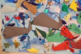 Origami og mósaik